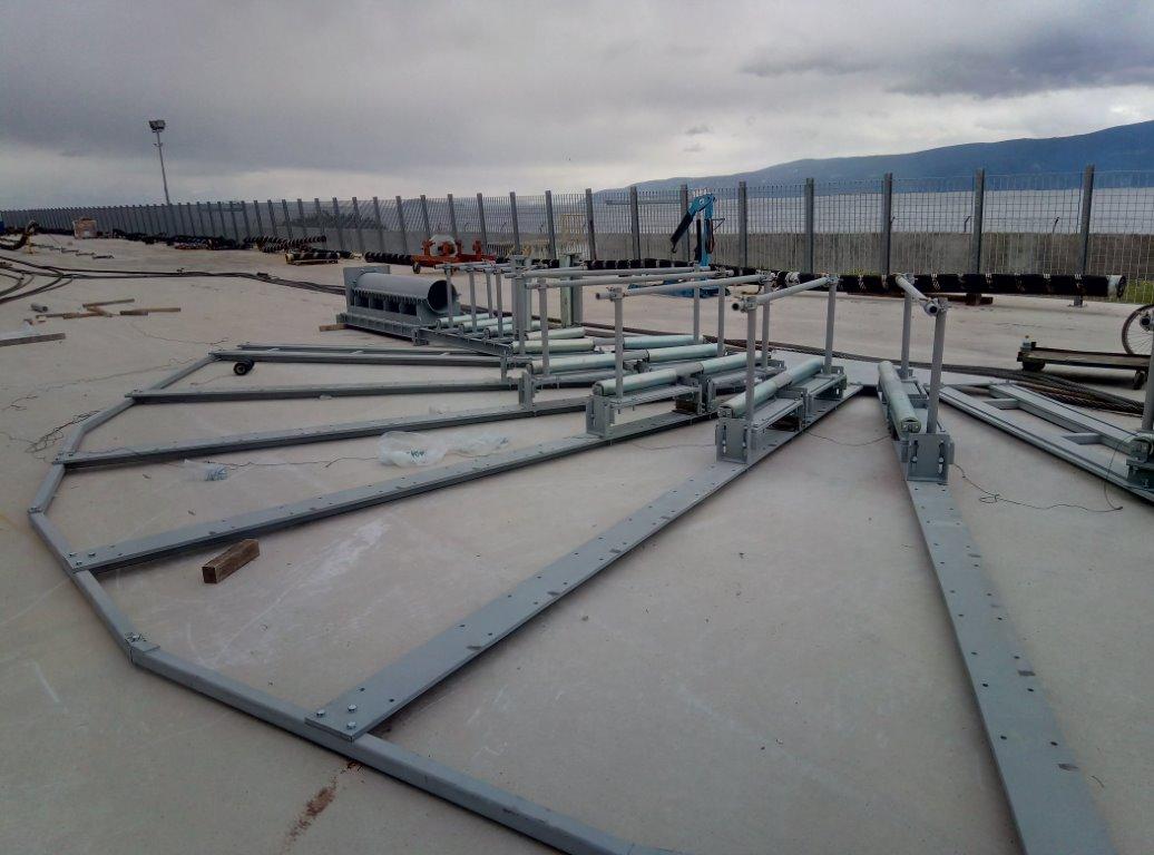 Κατασκευή και εγκατάσταση διάταξης Cable Bending