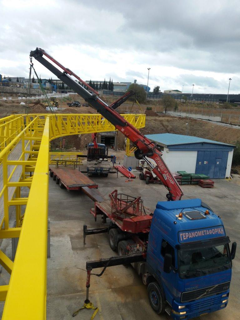 Κατασκευή και εγκατάσταση Pipe Rack