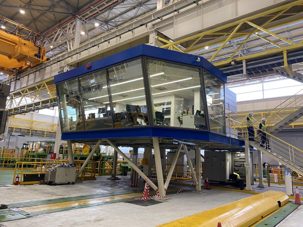 Κατασκευή και εγκατάσταση χειριστήριου τετραπλού ελάστρου Tandem