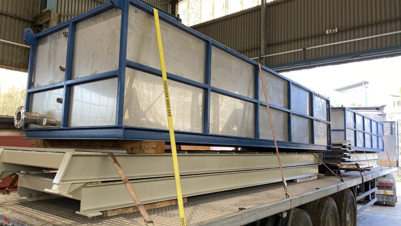 Κατασκευή-Eγκατάσταση ανοξείδωτων δεξαμενών