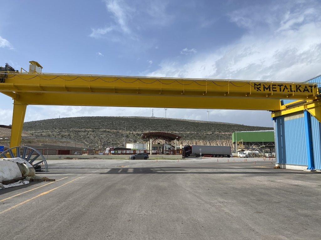 Γερανογέφυρα 2*11ton*30m